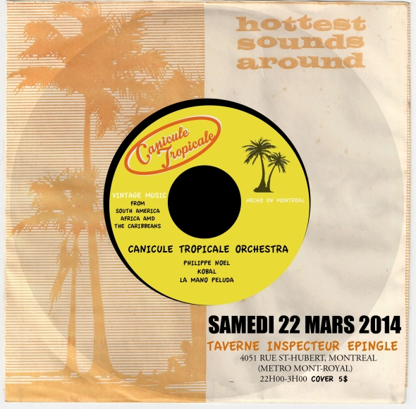 Canicule Tropicale - 22 mars 2014